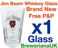 Single Jim Beam 32cl Whiskey Glass Brand New 100% Genuine 2&4cl Measure Lines