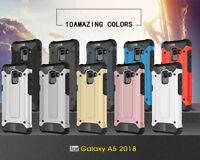 For Samsung S9 A8 2018 S9 + Heavy Duty Armor Strong Hybrid Shockproof Case Cover