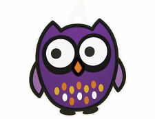Bright Star Kids Owl Design Backpack Tag for School - Childrens Bag / Luggage