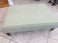 Sofa.com the ottoman Brushed Linen Cotton Lettuce