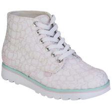 Chaussures blanches Kickers pour fille de 2 à 16 ans