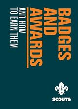 SCOUT BADGE AND AWARDS BOOK OFFICIAL SCOUTS UNIFORM NEW