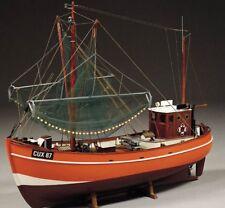 Cux 87 krabbenkutter de pesca de arrastreros 1:33 escala-Billing Boats Barco De Madera Kit