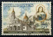 Filippine 1958 Mi. 622C Usato 100% Cattedrale di Manila Monumenti