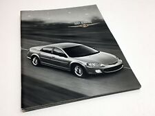 2001 Chrysler Sebring Sedan LX LXi Limited Brochure