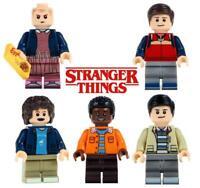 Stranger Things Will Eleven Mike Dustin Lucas Custom Lego Minifig Mini Figure 47