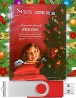1968 Sears Christmas Catalog / Wishbook Toys & More On USB Drive