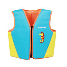 Kids Life Vest Inflatable Drifting Swimming Surfing Jacket with Survival Whistle