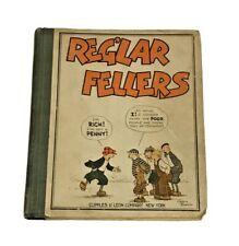 1929 Reg'lar Fellers Hardcover Comic Book Cupples & Leon Company New York