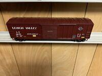 ✅MTH PREMIER LEHIGH VALLEY 50' SINGLE DOOR PLUG BOX CAR! O SCALE TRAIN LV