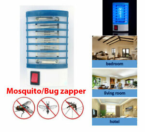 Electric Mosquito Killer Lamp Insect Bug Zapper Night Light LED Repellent Trap