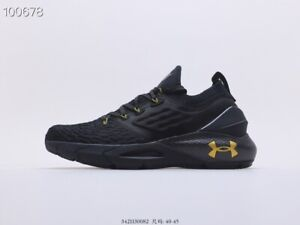 Black gold Under Armour andama UA HOVR Phantom 2 reactor Men's running shoes