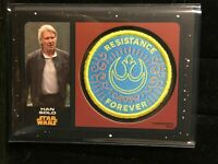 F31112 2019 Star Wars The Rise of Skywalker Commemorative Patches HAN SOLO/99