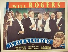 IN OLD KENTUCKY,Will Rogers, Dorothy Wilson,lc570