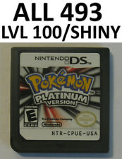 Authentic Pokemon Platinum Game Unlocked Nintendo DS lite DSi XL 2DS 3DS All 493