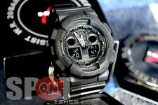 Casio G-Shock World Time Alarm Men's Watch GA-100-1A1