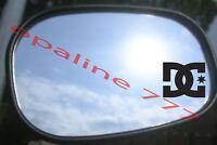 STICKER AUTOCOLLANT DC SHOES RETROVISEUR CASQUE POLY