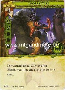 Warhammer Invasion - 1x Trollkotze  #080 - Base Set