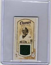 MARTY TURCO 09/10 CHAMPS CHAMP'S MINI THREADS JERSEY #MT Game-Used Hockey Card