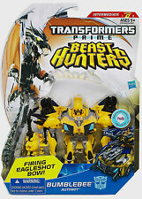 TRANSFORMERS Prime Collection_Beast Hunters_BUMBLEBEE action figure_Deluxe Class