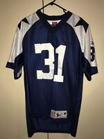 Used Reebok Roy Williams  31 Dallas Cowboys NFL Throwback Jersey Size M 7dd7fea5f