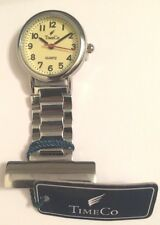 Time Co Quality Nurse Doctors Stainless Fob Watch  1046-7A