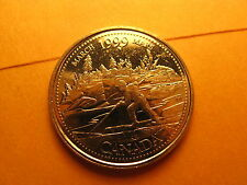 Canada 1999 March 25 Cent Mint Coin.
