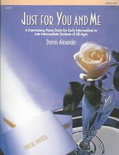 Just For You & Me Book 2 Piano Duets Intermediate Dennis Alexander Waltz Elegy