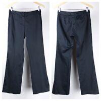 Elie Tahari Womens Dress Pants Size 2 / 4 Navy Blue AN6