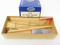 HO Scale Ambroid K-12 CN Canadian National 40' Box Car Wood Kit w/ Decals