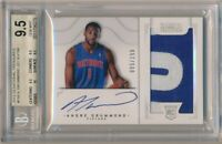 ANDRE DRUMMOND 2012/13 NATIONAL TREASURES RC AUTO 2 COLOR PATCH #/199 BGS 9.5 10