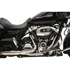 Bassani Chrome 2X2 Dual Head Pipes Headers Harley Milwaukee 8 M8 17-19