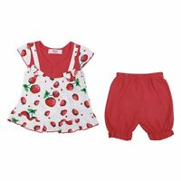 Baby Girls Dress Top and Shorts Toddler 2 Piece Set Outfit Summer Casual 6-36 M