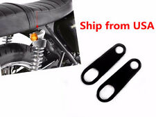 Rear Motorcycle Turn Signal Relocater Holder Shock Bracket Old School Cafe Racer