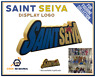 SAINT SEIYA Display Logo pour Collection Figurines Chevaliers du Zodiaque Manga