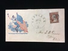 Oh Napoleon #26 Civil War Patriotic Soldier On Flagpole Star Spangled Banner