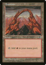 Magic MTG Tradingcard Tempest 1997 Mountain  (345)
