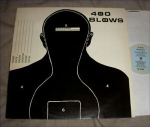 400 BLOWS Groove Jumping 12 INCH 1984 new wave dance Illuminated Records ILL4812