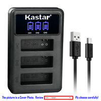 Kastar Battery Triple USB Charger for SJCAM SJ6 Legend SJ 6 LEGEND Battery