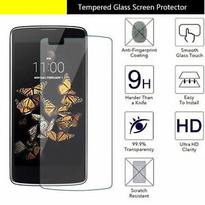 9H+ Premium Tempered Glass Film Screen Protector For LG V40 V50 G8 G7 Stylo 5 K9