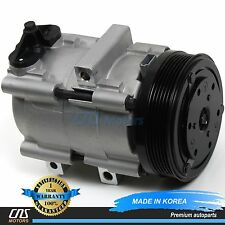 New A/C AC Compressor w/ Clutch 58145 FS10 95-07 Ford Mazda Mercury 2.5L 3.0L