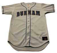 VINTAGE Durham Bulls Baseball Jersey Size 44 by Rawlings Embroidered EUC USA