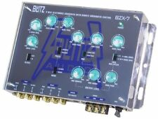 New Blitz Bzx7 3-Way Electronic Crossover Network with Subwoofer Level Control
