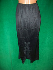 Sears black nylon half slip sz S waist (24-26) unstretched length is 36 inches