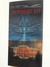 INDEPENDENCE DAY PROMO LENTICULAR 3-D CARD 1996 ADVERTISING VHS RELEASE