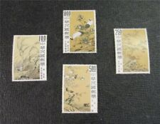 nystamps Taiwan China Stamp # 1624-1627 Mint OG NH $25
