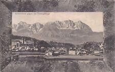 AUSTRIA - Kitzbuhel - Kitzbuhel gegen das Kaisergebirge