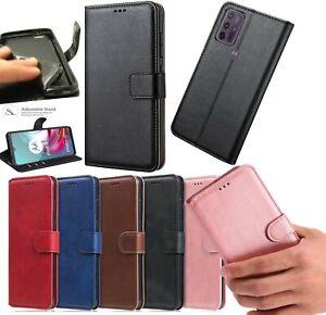 For Motorola E7i power E7 E7 Plus Case Leather Flip Slim Wallet Book Phone Cover