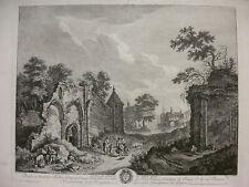 WEIROTTER, ABBAYE DE SAINT-MAUR IN SAINT-MAUR-DES-FOSSÉS, NACH J. G. WILLE ~1765