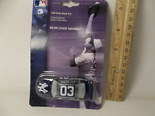 NEW YORK YANKEES MLB diecast Toy stock CAR Blue 1/64 scale Matchbox size 3""
